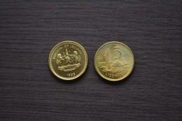 Lesotho 5 Lisente 1998. KM 62 ,1PCS , UNC. African Coin . - Lesotho
