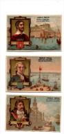 Chocolat Poulain.Navigateurs. Pierre Le Grand.St Pettersbourg.De La Perouse.Cherbourg.Camoens.Lisbonne. - Poulain