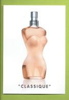 JEAN PAUL GAULTIER * CLASSIQUE * NEW CARD * 10,5 X 14,7 Cm - Cartes Parfumées