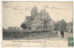 95 - CLERY - L'Eglise - Frichon - 1907 - Autres Communes