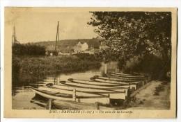 Ref 198 - HARFLEUR - Un Coin De La Lézarde (1936) - Harfleur