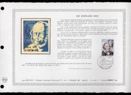 """MONACO 1979 : DAP 1er Jour Nté / Soie RARE (2200 Ex) """" SIR ROWLAND HILL"""" N° YT 1202. Parfait état. FDC - FDC"""