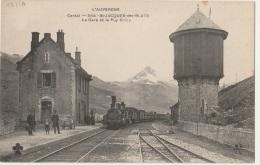 15 - SAINT-JACQUES-DES-BLATS - La Gare Et Le Puy Griou - TBE - France