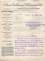 VP3567 - Tabac - Lettre Des Anciens Ets BRISSONNEAU & LOTZ Mécanique Générale à NANTES Pour  Mr Th. SCHOESING à PARIS - Documents