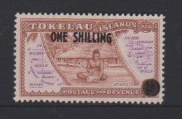 Tokelau Mi 5 Local Scenes - Surcharged In Black - Atafu - 1956 * * - Tokelau