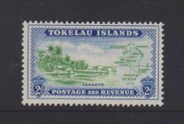 Tokelau Mi 3 Local Scenes - Fakaofo Shore Line - Map - 1948 * * - Tokelau