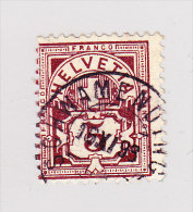 Heimat ZH SCHWAMMENDINGEN 16.11.189? Auf 5Rp WZ - 1882-1906 Wappen, Stehende Helvetia & UPU