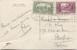 Algérie CP Alger 'La Rue De La Marine' C.Paquebot Marseille En 1937 V. Boistfort Belgique PR2903 - Algeria (1924-1962)