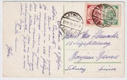 Lettland, 1920, Ausland-Postkarte , #5544 - Lettland