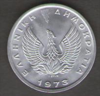 GRECIA 20 LEPTA 1973 - Grecia