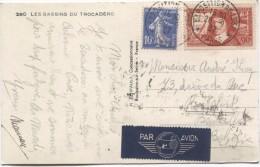 France CP Expo Inter.Paris 1937 C. Exposition De 1937 Paris 20/9/1937 V.Boitsfort Belgique PR2905 - France