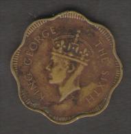 CEYLON 10 CENTS 1951 - Kolonien