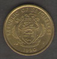 SEYCHELLES 10 CENTS 1990 - Seychelles
