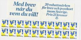 Schweden Rabatt- Heft   **    (be4463  ) Siehe Scan - 1981-..