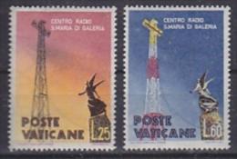 Vatican City 1959 Radio 2v ** Mnh (gum Partly Brown) (SAN040) - Vaticaanstad
