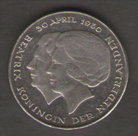 PAESI BASSI 2 1/2 GULDEN 1980 BEATRIX - [ 3] 1815-… : Regno Dei Paesi Bassi