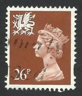 Wales, 26 P. 1997, Sc # WMMH74, Mi # 73CS, Used - Regional Issues