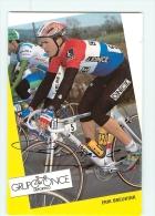 Erik BREUKINK , Autographe Manuscrit, Dédicace . 2 Scans. Once - Cycling
