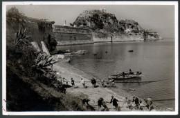 1921 - Ohne Porto - Alte Foto Ansichtskarte - Corfu Korfu Kérkyra Gel. 1939 - Grèce