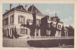 Le Sap -  Le Costil - Le Château (façade Principale) Circulé Sans Date, Sous Enveloppe, Colorisée - France