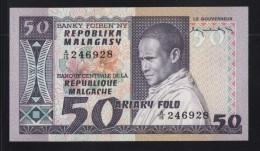 50 FRANCS / 10 ARIARY Banque Centrale De La République Margache (1974/1975) - Madagascar