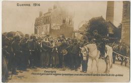Spahis Indigenes Et Artilleurs à Compiegne Apres Bataille Vic Sur Aisne Pub Absinthe Oxygenee Cusenier - Guerra 1914-18