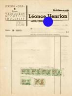 Menuchenet Bouillon Léonce Henrion - Belgique