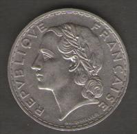 FRANCIA 5 FRANCHI 1933 - Francia