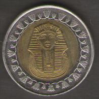 EGITTO 1 POUND 2008 BIMETALLICA - Egitto