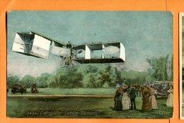 LOL433, L'Aéroplane Santos-Dumont, 3439,  édité Pour Le Chocolat Louit,  Circulée Sous Enveloppe - Flugwesen