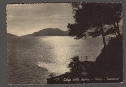 1955 LERICI GOLFO DE LA SPEZIA TRAMONTO FG V SEE 2 SCANS TASSATA - La Spezia