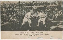 Art Martiaux Ju Jitsu à Tokyo Simon's Brothers 1906 - Martiaux