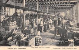 CPA 27 USINE DE GAILLON ATELIERS DES MACHINES J.PAPIN ET COMPAGNIE MANUFACTURE GENERALE DE BROSSERIE TAPIS BROSSE - Other Municipalities