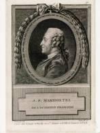 JEAN FRANCOIS MARMONTEL Né à BORT LES ORGUES (CORREZE) DE L'ACADEMIE FRANCAISE. écrivain,philosophe,disciple De VOLTAIRE - France