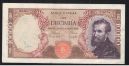 ITALIE - 10 000 LIRES Michel-Ange - 08/06/1970 - TTB+ - 10000 Lire