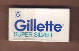AC -  GILLETTE # 1 BLADES SHAVING RAZOR BLADES 5 BLADES IN UNOPENED BOX - Razor Blades