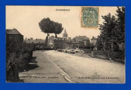 FLEURBAIX  PAS DE CALAIS    Entrée Du Bourg Par La Route D'Armentières  Cpa : N&b . 1 Pli - Autres Communes