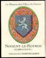 Cigarettes Laurens/Le Blason Des Villes De France : Armoiries De Nogent-le-Rotrou - Cigarettes