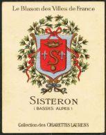 Cigarettes Laurens/Le Blason Des Villes De France : Armoiries De Sisteron - Other Brands