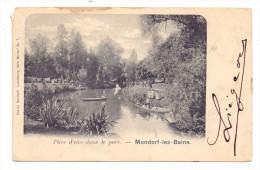 L 5600 BAD MONDORF, Parkteich, Bernhoeft-Lux. - Bad Mondorf