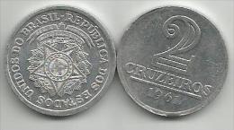 Brazil 2 Cruzeiros 1961. - Brésil