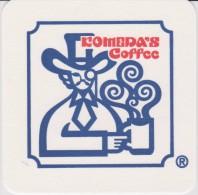 Bierviltje / Sous Bock  Beer Coaster Komeda's Coffee From Japan - Bierviltjes