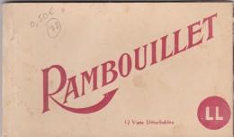RAMBOUILLET ( 77 )  Carnet De 5  Cartes Postales Détachables . - Rambouillet (Château)