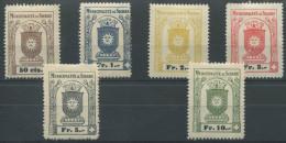 1026 - SIERRE Fiskalmarken - Fiscaux