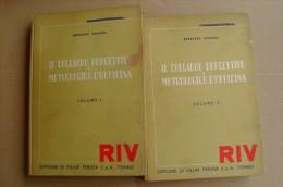 L/55 Dughera IL COLLAUDO PERCETTIVO E METROLOGICO D´OFFICINA 2 Vol. RIV/Villar Perosa Anni ´50 - Altri