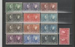 Bel Mi.Nr. 191-203/ 75 Jahre Belg.Briefmarken 1925 ** - Belgium