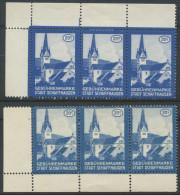 1039 - SCHAFFHAUSEN Fiskalmarken - Steuermarken