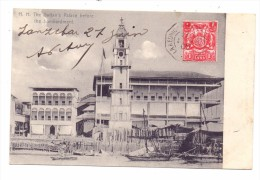 "ZANSIBAR - Sultan's Palace Before The Bombardement, 1905, Schiffspost ""La Reunion - Marseille"" - Tansania"