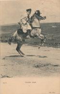 ETHNIQUES ET CULTURES - AFRIQUE DU NORD - Cavalier Arabe (postée à ORAN En 1906) - Afrique