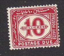 Egypt, Scott #J25, Mint Hinged, Postage Due, Issued 1922 - Ägypten